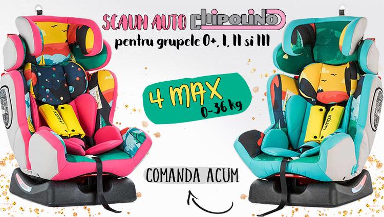 Scaun auto Chipolino 4 Max 0-36 kg