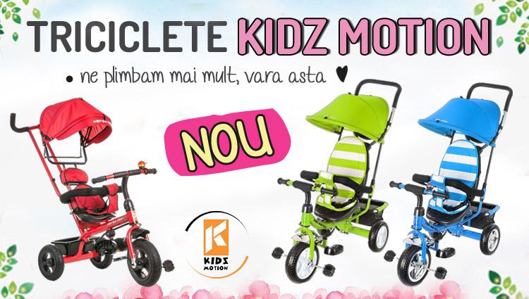 Triciclete Kidz Motion