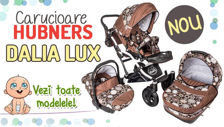 Carucior Hubners Dalia Lux 3 in 1