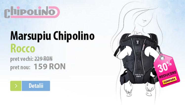 Promotie Marsupiu Chipolino Rocco