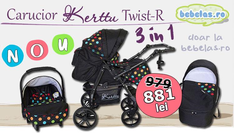 Carucior Kerttu Twist-R 3 in 1