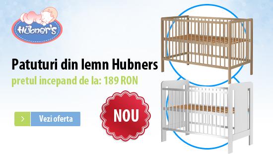 Patuturi copii din lemn Hubners