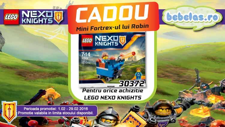 Promotii Lego Nexo Knights