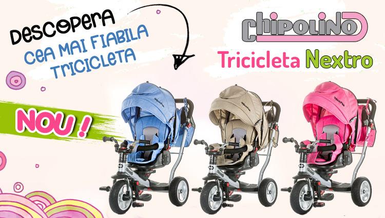 Tricicleta Chipolino Nextro