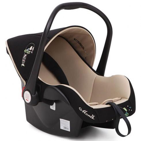 Scaun auto Moni Babytravel black