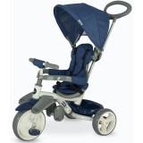 Tricicleta cu copertina Coccolle Evo albastru