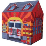Cort de joaca Ecotoys 8722 Statie de pompieri