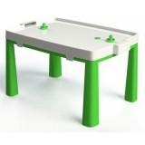 Set MyKids 045802 masuta si scaun taburet verde