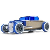 Masinuta din lemn Automoblox Mini Hot Rod HR3