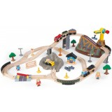 Pista Trenulet KidKraft Bucket Top Construction