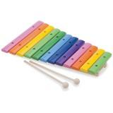 Xilofon New Classic Toys 12 note colorate