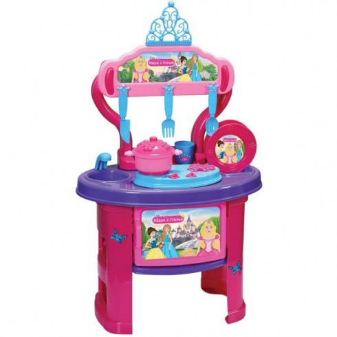 Bucatarie Ucar Toys Princess Maya and Friends 19 piese