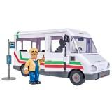 Autobuz Simba Fireman Sam Trevors Bus cu figurina {WWWWWproduct_manufacturerWWWWW}ZZZZZ]