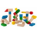 Blocuri magnetice educative Kooglo 100 piese multicolore