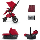 Carucior Concord Neo Travel Sleep ruby red