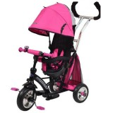 Tricicleta cu copertina Baby Mix Sunrise Turbo Trike pink