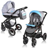 Carucior Vessanti Crooner 2 in 1 blue gray