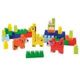 Set constructie Ecoiffier Abrick cu Animalute