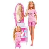 Set Simba Steffi Love Bedtime cu papusa 29 cm, papusa 12 cm si accesorii {WWWWWproduct_manufacturerWWWWW}ZZZZZ]