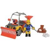 ATV Simba Fireman Sam, Sam Mercury Snow Quad cu lama de zapada, figurina Sam si accesorii {WWWWWproduct_manufacturerWWWWW}ZZZZZ]