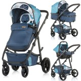 Carucior Chipolino Milo 2 in 1 marine blue