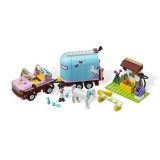 LEGO Friends - Masina de Transportat Cai