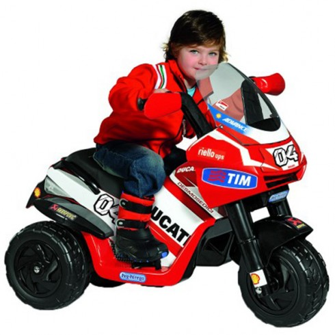 Motocicleta Peg Perego Ducati Desmosedici Rider VR