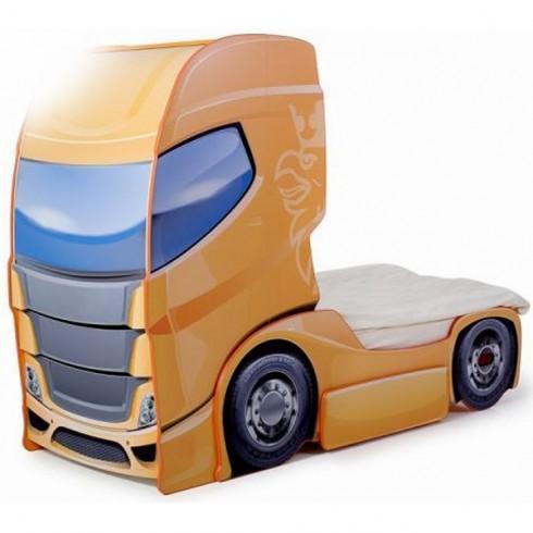 Patut camion MyKids Duo Scania+1 portocaliu