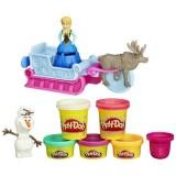 Set plastilina Hasbro Play Doh Frozen Aventurile Saniutei