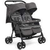 Carucior Joie Aire Twin dark pewter