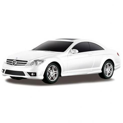 Masinuta Rastar Mercedes-Benz CL63 AMG alb