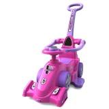 Masinuta de impins Chipolino Formula cu maner pink