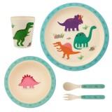 Set pentru luat masa Sass & Belle Dinozauri