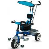 Tricicleta cu copertina DHS Scooter Plus albastru
