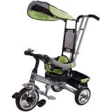 Tricicleta cu copertina Sun Baby Lux verde