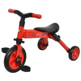 Tricicleta DHS B-Trike 2 in 1 rosu