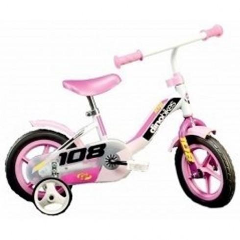 Bicicleta Dino Bikes 108 FL roz