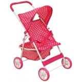 Carucior pentru papusi Baby Mix Pink Spotted