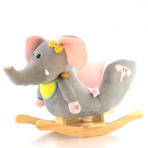 Elefant balansoar muzical Eurobaby Fdrk 158n