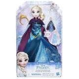 Papusa Hasbro Disney Frozen Elsa cu Rochita 2 in 1