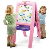 Tabla dubla pentru copii - Easel for Two Culoare Roz {WWWWWproduct_manufacturerWWWWW}ZZZZZ]