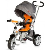 Tricicleta cu copertina si sezut reversibil Coccolle Giro portocaliu