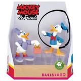 Set figurine Bullyland Daisy si Donald