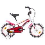 Bicicleta Chipolino Rocket 16 alb-rosu