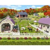 Tapet Walltastic Horse and Pony Stables