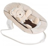 Scaunel balansoar Hauck Alpha Bouncer Hearts 2 in 1 beige