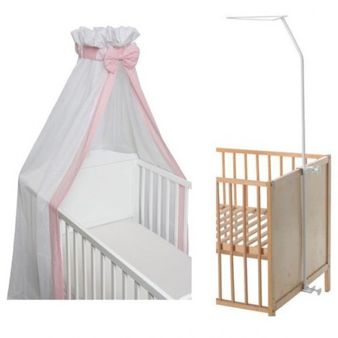 Baldachin cu suport Kreis Design Basic pink