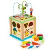 Cub educational Ecotoys HM015470 cu tabla