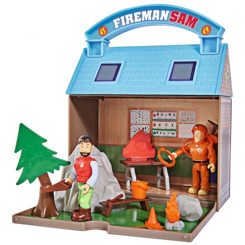 Jucarie Simba Statie montana Mountain Activity Centre Fireman Sam Bergstation cu 2 figurine si accesorii {WWWWWproduct_manufacturerWWWWW}ZZZZZ]