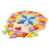 Puzzle din lemn New Classic Toys Octogon